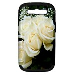 White Rose Samsung Galaxy S III Hardshell Case (PC+Silicone)
