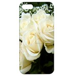 White Rose Apple iPhone 5 Hardshell Case with Stand