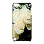 White Rose Apple iPod Touch 5 Hardshell Case with Stand