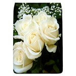 White Rose Removable Flap Cover (Large)