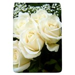 White Rose Removable Flap Cover (Small)