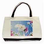 White Gerbera Flower Refresh From Rain Classic Tote Bag