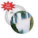 Zambia Waterfall 2.25  Button (100 pack)