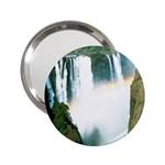 Zambia Waterfall 2.25  Handbag Mirror