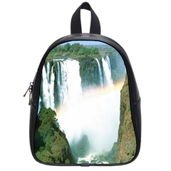 Zambia Waterfall School Bag (Small) from DesignYourOwnGift.com Front