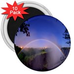Zambia Rainbow 3  Magnet (10 pack)