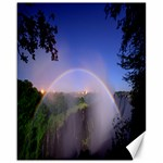 Zambia Rainbow Canvas 16  x 20