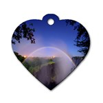 Zambia Rainbow Dog Tag Heart (One Side)