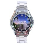 Zambia Rainbow Stainless Steel Analogue Men's Watch