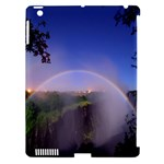 Zambia Rainbow Apple iPad 3/4 Hardshell Case (Compatible with Smart Cover)