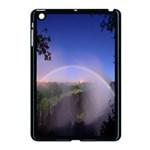 Zambia Rainbow Apple iPad Mini Case (Black)