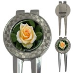 Yellow Rose 3-in-1 Golf Divot