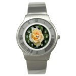 Yellow Rose Stainless Steel Watch