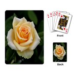 Yellow Rose Playing Cards Single Design