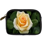 Yellow Rose Digital Camera Leather Case