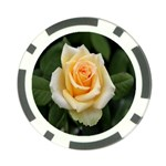 Yellow Rose Poker Chip Card Guard (10 pack)