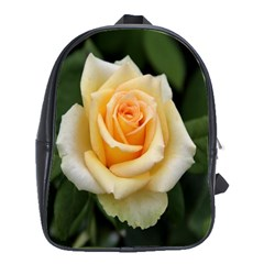 Yellow Rose School Bag (Large) from DesignYourOwnGift.com Front