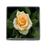Yellow Rose Memory Card Reader with Storage (Square)