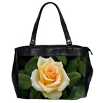 Yellow Rose Oversize Office Handbag (Two Sides)