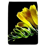 Yellow Freesia Flower Removable Flap Cover (Small)