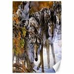 Wolf Family Love Animal Canvas 12  x 18