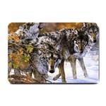 Wolf Family Love Animal Small Doormat