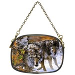 Wolf Family Love Animal Chain Purse (One Side)
