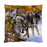 Wolf Family Love Animal Cushion Case (One Side)
