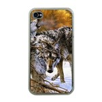 Wolf Family Love Animal Apple iPhone 4 Case (Clear)