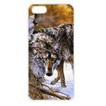 Wolf Family Love Animal Apple iPhone 5 Seamless Case (White)