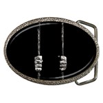 Being Behide The Bars Does Not Mean I Am Guilty Belt Buckle