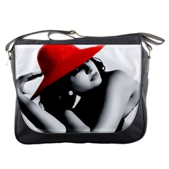 Red Hat Messenger Bag by dray6389