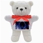 London Eye And  Ferris Wheel Christmas Teddy Bear