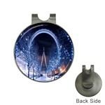 London Eye And  Ferris Wheel Christmas Golf Ball Marker Hat Clip