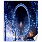 London Eye And  Ferris Wheel Christmas Canvas 20  x 24