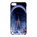 London Eye And  Ferris Wheel Christmas Apple iPod Touch 5 Hardshell Case with Stand