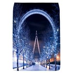 London Eye And  Ferris Wheel Christmas Removable Flap Cover (Large)