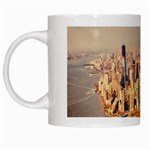 New York Manhattan White Mug