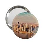 New York Manhattan 2.25  Handbag Mirror