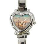 New York Manhattan Heart Italian Charm Watch