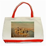 New York Manhattan Classic Tote Bag (Red)
