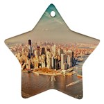 New York Manhattan Star Ornament (Two Sides)