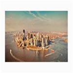 New York Manhattan Glasses Cloth (Small, Two Sides)