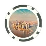 New York Manhattan Poker Chip Card Guard (10 pack)
