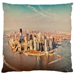New York Manhattan Large Cushion Case (One Side)