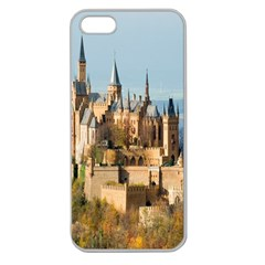 Castle Hill In Autumn Apple Seamless iPhone 5 Case (Clear) from DesignYourOwnGift.com Front