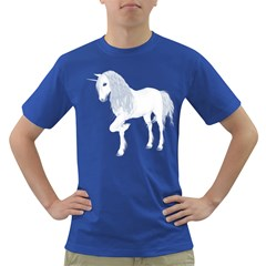White Unicorn 4 Mens' T-shirt (colored)
