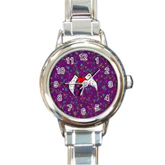 Your Heart Has Wings So Fly   Updated Round Italian Charm Watch by KurisutsuresRandoms