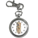 Golden Retriever Key Chain Watch
