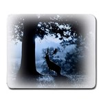 Animal Deer In Forest Large Mousepad